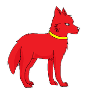 Red Wolf Icon by Fluffy-Bearr