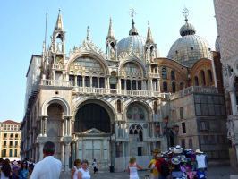 St. Mark's Basilica by AtomicBrownie
