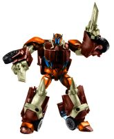 Transformers Prime dinobot by minibot-gears