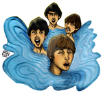 Beatles Pool by Alecobain26