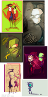 Invader Zim dump thing- by T00NY-bits