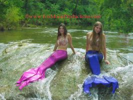 Mermaids in the Waters. by FoxmoonMerfolk