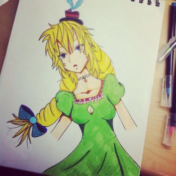 Lily by drawingequalslife