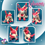 Sylveon Plushie 2.0 by Ami-Plushies