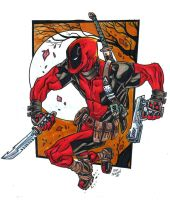 Deadpool by AdversaryComix