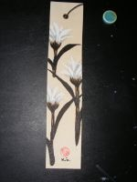 Flowers Bookmark by KellyGirl1