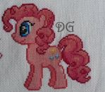 Pinkie Pie embroidery (My Little Pony) by didi-gemini