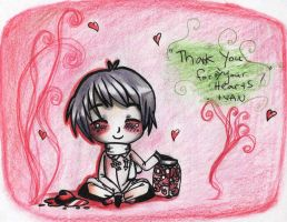 APH Ivan's message to Fangirls by SWEETLEMONLOVE