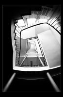 Stairs IV by Sblourg