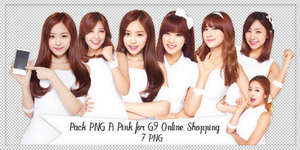 Pack PNG #87: A Pink for G9 Online Shopping by jimikwon2518