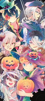 HAPPY HALLOWEEN!!!! by unkou