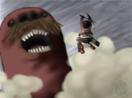 Shingeki No Pingu by Corssair-Buckets