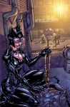 Arkham City Catwoman colors by Chuckdee