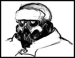 Helghast quicky by Rafta