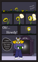 In The Ruins | Page One by CarbieDraws