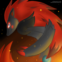 Zoroark - Destructive Illusion by lolicrescendo