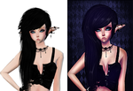 imvu drawing by yhokimeow