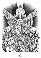 Custom St. Michael by dfmurcia