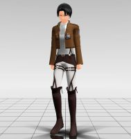 Attack On Titan - Levi MMD download by Reon046