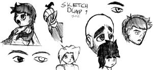Sketch Dump 1 2012 by ADE-Syndicate
