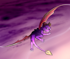 Flying High by IcelectricSpyro