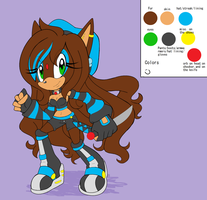 Ysabel the hedgehog .:Ref:. by SWAG-Daddy