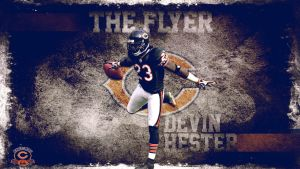 The Flyer Devin Hester by Photopops