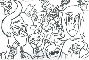 Remington Tufflips and friends (requests) by XsaHero