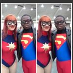 Superboy and Ms marvel Baltimore Comic Con by Leck-Zilla