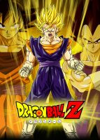 Poster Dragon Ball Z: Vegetto by Dony910