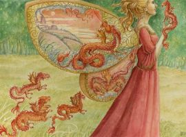Walking with Dragons by cgb30