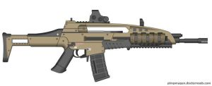 Black Ops 2 M8A1 (Final Version, EOTech Sight) by Scarlighter