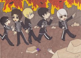 MCR chibis by Freddy-kun