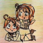 [AT] Romano + Nyo!Romano by GraphiteNotes
