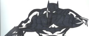 Batman sketch by onetouchtakeover