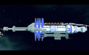 Omega and Babylon 5 by madmick2299