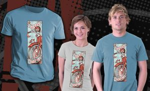 """""""A Loner, A Rebel"""" shirt on Teefury.com, by nakedDerby"""