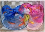Water inflated  Pururu and Maru by SSsilver-c