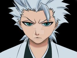 Toushiro Hitsugaya colored by Travis2311