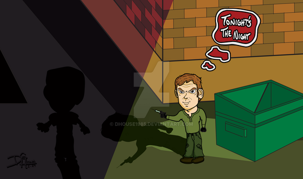 Dexter on the Hunt by DHouse1985