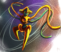 Deoxys doodle by Haychel
