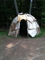 Native American Tent by bobisawsome1000