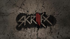 Skrillex grunge wallpaper by Christoffer-jensen