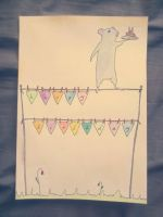 birthday card by SpasmodicSquirrel