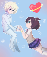 Space Patrol Luluco by sakurichii