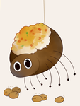 Loaded Potato Spider by HappyCrumble