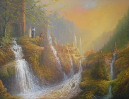Rivendell-Wisdom-of-the-Elves-by-Joe-Gilronan by newboldworld