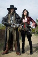 Van Helsing and Anna Valerious by CrichyRulz