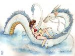 Spirited Away: swimmingly by janey-jane