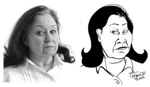 The Mexican Momma Stare by Joe5art